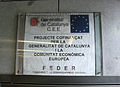 02 Placa a l'estació de metro Universitat.jpg