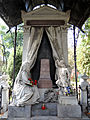 041012 Sculpture and architectural detail at the Orthodox cemetery in Wola - 01.jpg