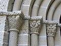 050 Monestir de Sant Benet de Bages, capitells del portal de l'església.jpg