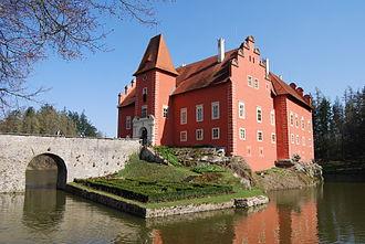 Renaissance architecture in Central and Eastern Europe - Červená Lhota Castle in south Bohemia