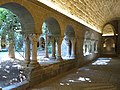 074 Monestir de Sant Benet de Bages, claustre, galeria nord.jpg