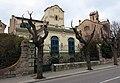 078 La Bombonera, al Passeig; al fons la Torre Iris (la Garriga).JPG