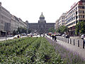 089 Plaça de Venceslau, al fons el Museu Nacional.jpg