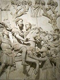 Scène de l'Arc de Marc-Aurèle