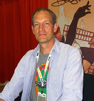 Terry Dodson - Dodson at the 2012 New York Comic Con