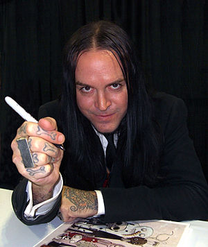 Roman Dirge - Dirge at the 2011 New York Comic Con