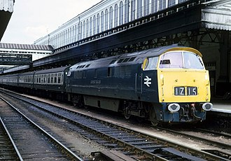British Rail Class 52 - Image: 1023 1z 15 Paddington extra service at Exeter St Davids geograph.org.uk 734618