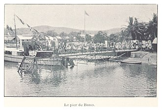 Boma, Democratic Republic of the Congo - Image: 102 Le pier de Boma