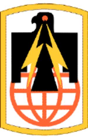 11th Signal Brigade (United States) - 11th Signal Brigade Shoulder Sleeve Insignia