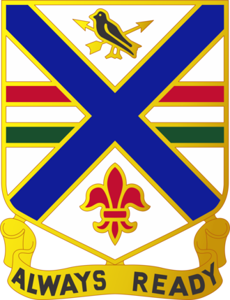 130th Infantry Regiment (United States) - Image: 130 Inf Rgt DUI