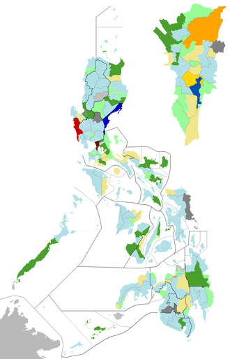 Philippine House of Representatives elections, 2010 - 14th Congress district congressmen