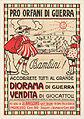 15 Sammlung Eybl Italien. Anonym. Pro orfani di guerra (Für die Kriegswaisen!). Um 1919. 100 x 70 cm. (Slg.Nr. 466).jpg