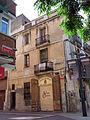 160 Antic ajuntament de Gavà, al c. Sant Pere, façana del c. Cap de Creus.JPG