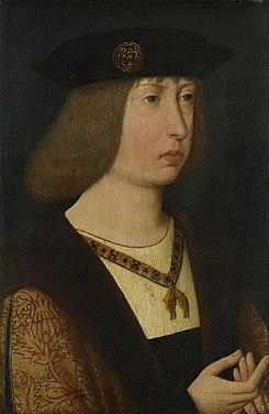 16e eeuw onbekend schilder - Filips de Schone, Aartshertog van Oostenrijk, Hertog van Bourgondie.jpg