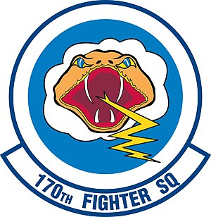 170th Fighter Squadron - Image: 170th Fighter Squadron emblem