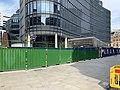 17 Liverpool Street Elizabeth line entrance construction August 2020.jpg