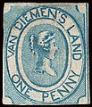 1853 stamp of Van Diemen's Land.jpg