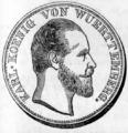1869 Württemberg 2 thaler obverse.png