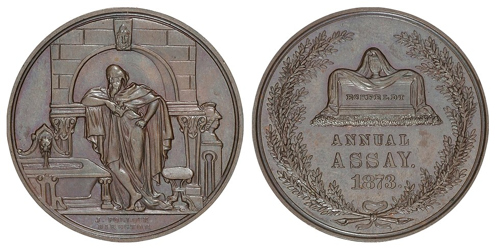 1873 Assay Commission Medal (Julian AC-12)