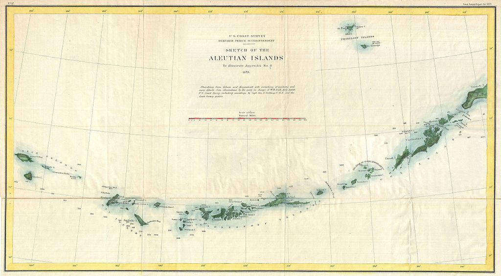 Images Of Aleutian Islands On Map