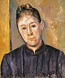 Paul Cézanne: Portrait de Madame Cézanne