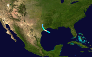 1888 Atlantic hurricane season - Image: 1888 Atlantic hurricane 1 track