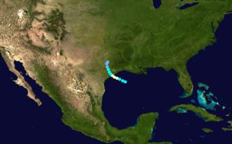 1888 Atlantic hurricane season - Image: 1888 Atlantic hurricane 1 track