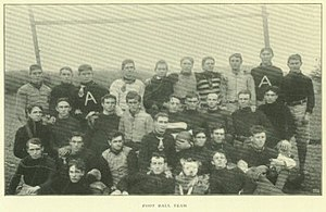 1899 Arkansas Cardinals football team - Image: 1899 Arkansas Cardinals football team