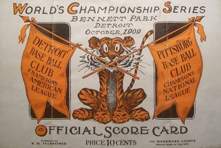 1909 World Series 1909 Major League Baseball championship series