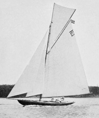 Norway at the 1912 Summer Olympics - Taifun, Norway's 8 m gold-winning 8 m class boat