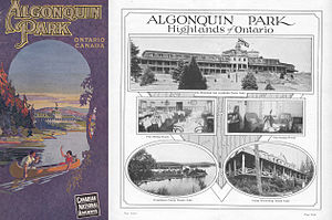 Highland Inn - 1925 CNR Algonquin Park pamphlet