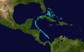 1926 Atlantic tropical storm 11 track.png