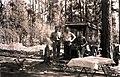 1929. Ike Hastings, Phillip C. Johnson, William D. Bedard. Horsefly Unit. Southern Oregon Northern California control project. (33208112363).jpg