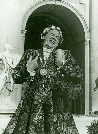 Attila Hörbiger - Hörbiger as Jedermann, Salzburg Festival, 1947