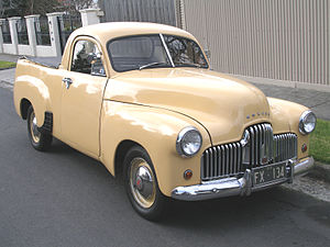 Holden - The Holden 50-2106 utility launched in 1951, three years after the 48-215 sedan.