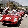1960-05-08 Targa Florio Ferrari 250 TR59 0772TR Allison Ginther.jpg
