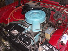 pontiac tempest 195 5 cu in 3 2 l trophy 4 engine in a 1962 pontiac tempest lemans