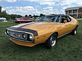 1971 AMC Javelin AMX 401 in Mustard Yellow at 2015 AMO show 1of7.jpg