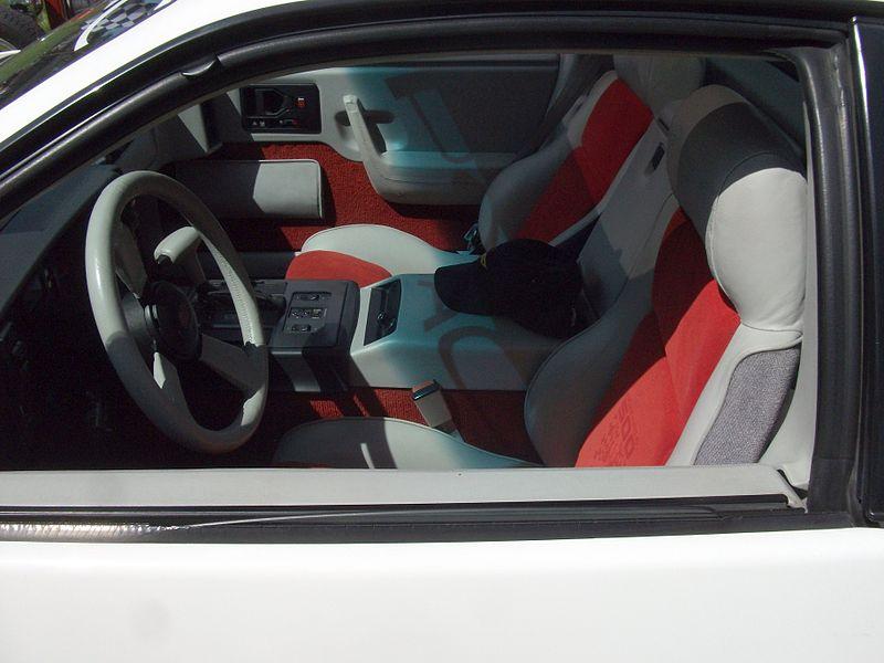 File 1984 Pontiac Fiero Interior 6056100354 Jpg Wikimedia Commons