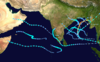 1992 North Indian Ocean cyclone season summary map.png