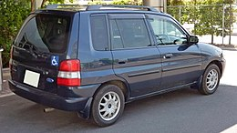 1996 Ford Festiva Miniwagon rear.JPG