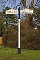 19th Century road sign - geograph.org.uk - 721225.jpg
