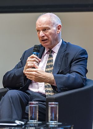 David Neuberger, Baron Neuberger of Abbotsbury - Lord Neuberger of Abbotsbury speaking at a conference in Singapore in 2016