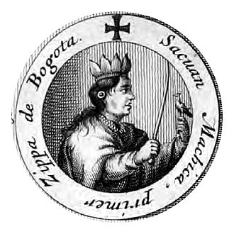 Saguamanchica - Saguamanchica depicted in 1688
