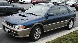Subaru Impreza - 2001 model year Subaru Outback Sport (US)
