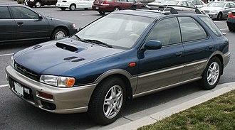 Subaru Impreza - 2001 model year Subaru Outback Sport