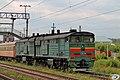 2ТЭ10М-2242, Россия, Татарстан, станция Высокая Гора (Trainpix 67745).jpg