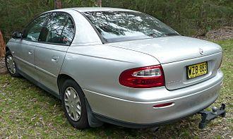 Holden Commodore (VX) - 2000-2001 Holden Commodore (VX) Acclaim sedan