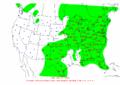2002-09-15 24-hr Precipitation Map NOAA.png