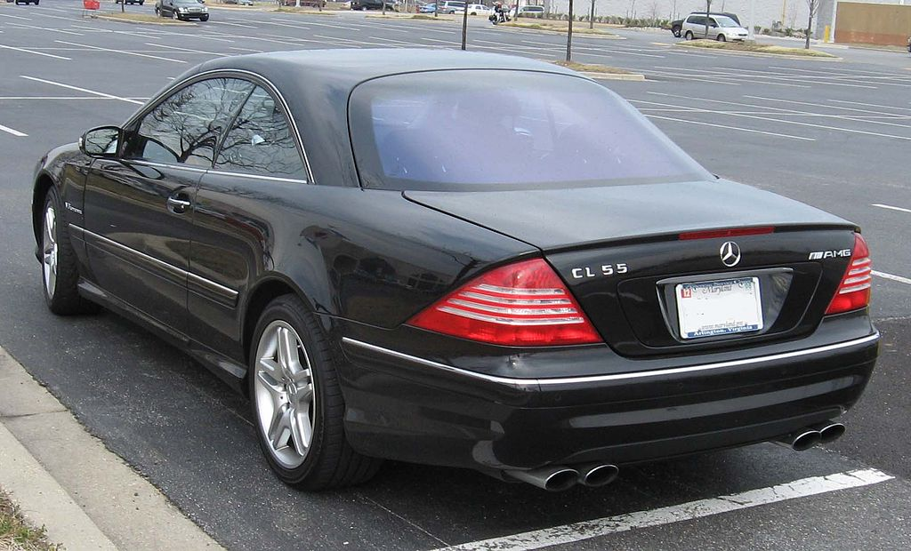 file 2003 mercedes benz cl55 amg wikimedia commons. Black Bedroom Furniture Sets. Home Design Ideas